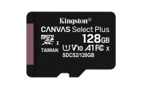Kingston Canvas Plus! 128GB MicroSDHC + adapter 58781