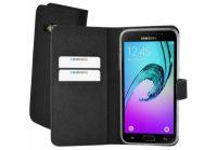Mobiparts Premium Wallet TPU Case Samsung Galaxy J3 (2016) Black