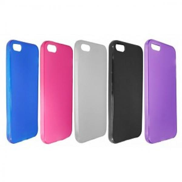 Silicon Case iPhone 5 / 5s (diverse kleuren)