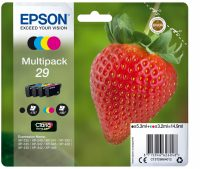 Epson 29 Multipack (Aardbei) T2986 14,9ml (Origineel) 52059