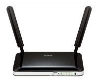 D-Link DWR-921 / E Fast Ethernet 3G 4G Zwart, Wit draadloze router