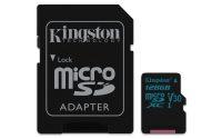 Kingston Canvas Plus! 128GB MicroSDHC + adapter 58781