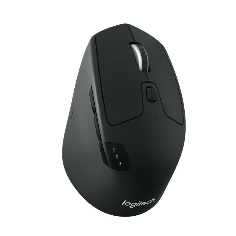 Logitech M720 RF draadloos + Bluetooth Optisch 1000DPI Rechtshandig Zwart, Wit muis