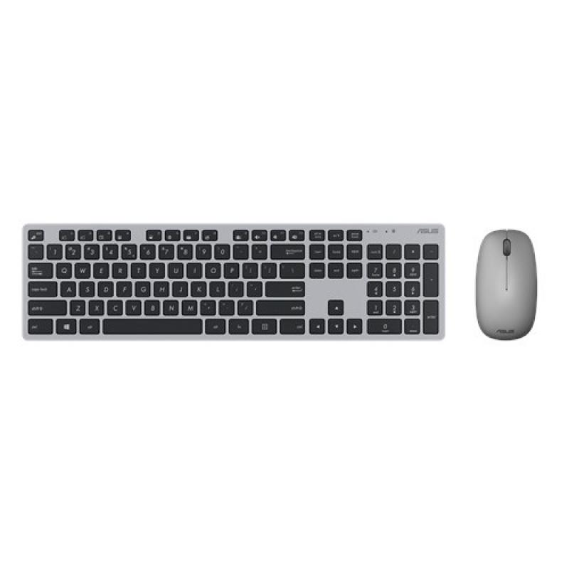 ASUS toetsenbord en muis RF Draadloos Grijs
