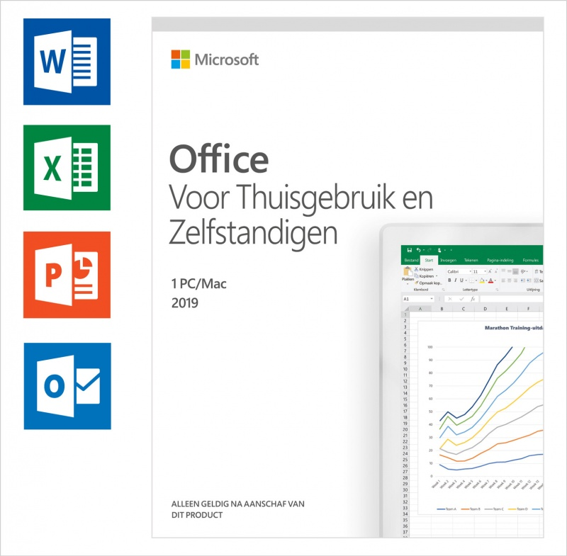 Microsoft Office 2019 Home & Business 1 PC / Mac