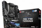 MSI MAG Z490 TOMAHAWK LGA 1200 ATX Intel Z490  moederbord