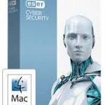 ESET Cybersecurity for Mac 1 jaar 2 Mac