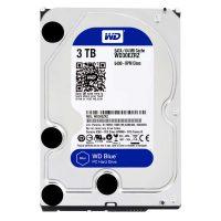 Western Digital Blue 3TB 5400rpm SATA harddisk