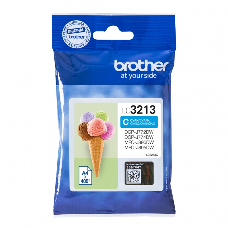 Brother LC-3213C inktcartridge Origineel Hoog (XL) rendement Cyaan