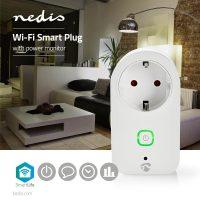 Nedis Wi-Fi smart plug Stroommeter type F,16A