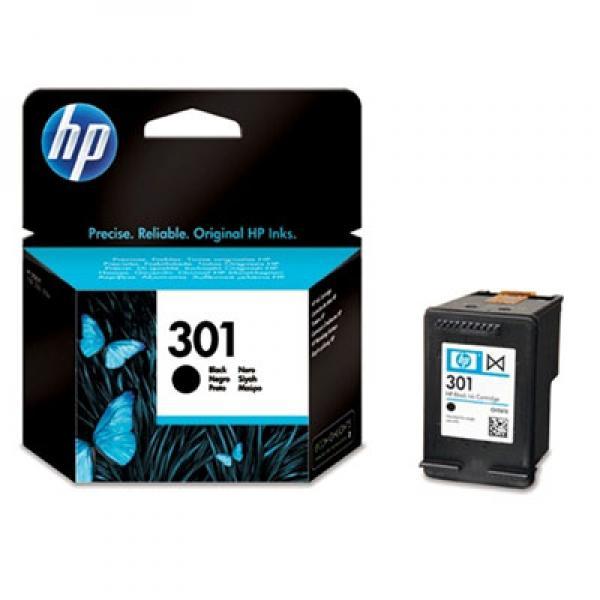 HP No.301 Zwart 3ml (Origineel) 39688