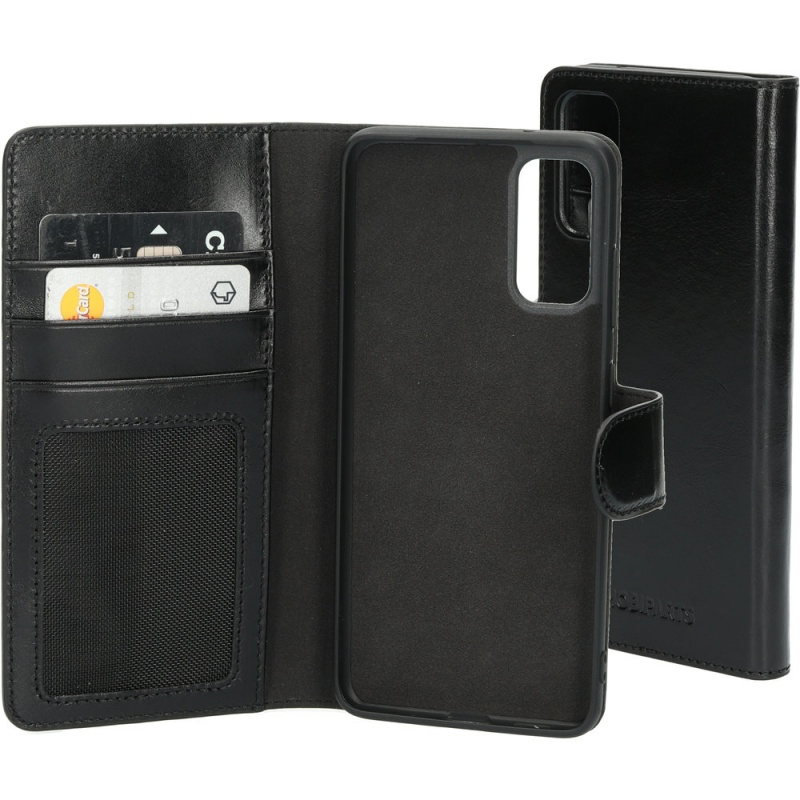 Mobiparts Excellent Wallet Case 2.0 Samsung Galaxy S20 4G / 5G Jade Black