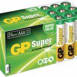 GP Super Alkaline box 24 AAA