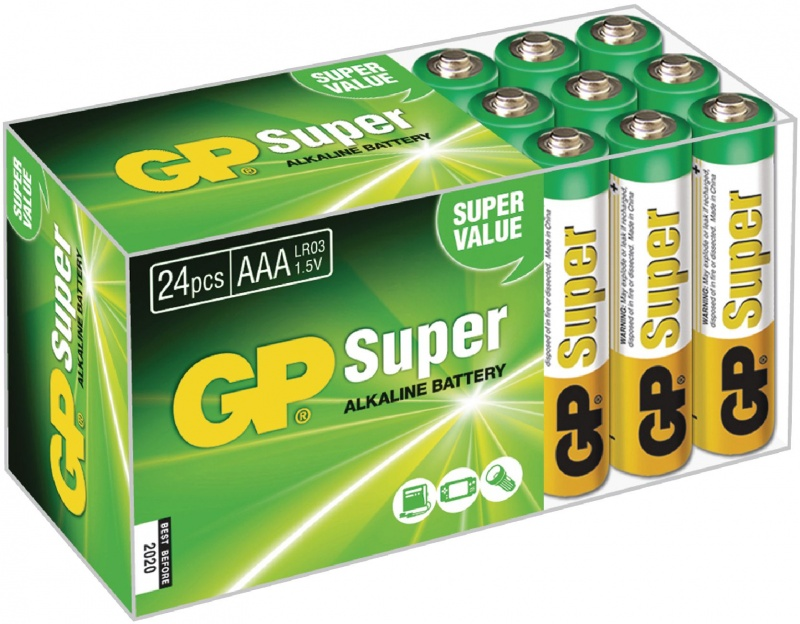 GP Super Alkaline box 24 AAA