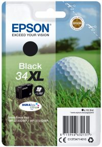 Epson Singlepack Black 34XL DURABrite Ultra Ink