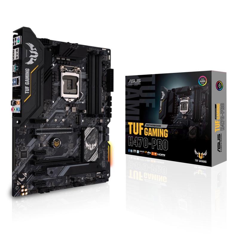ASUS TUF GAMING H470-PRO Intel H470 ATX  LGA 1200