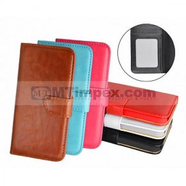 Book Case Nokia Lumia 435 (diverse kleuren)