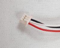 Knoopcell CR2032 batterij 3V met kabel 3 polig
