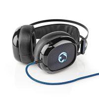 Gaming Headset | Over ear | Ultra Bass | LED-lampje | 3,5 mm- en USB-stekkers
