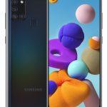 Samsung Galaxy A21s SM-A217F 16,5 cm (6.5 inch ) Dual SIM Android 10.0 4G USB Type-C 3 GB 32 GB 5000 mAh Zwart