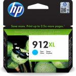 HP 912XL originele high-capacity cyaan inktcartridge