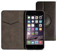 Mobiparts Classic Wallet Case Black - Universal Size L