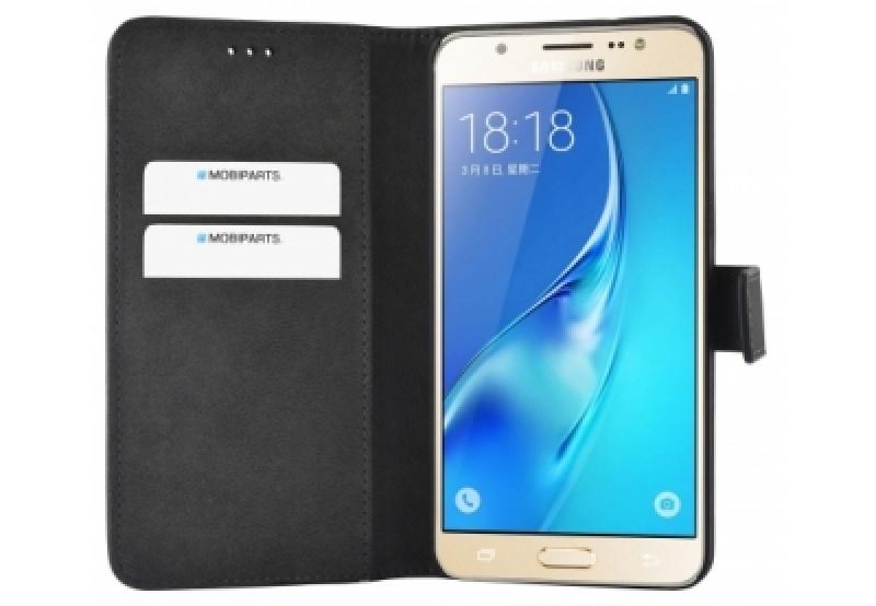 Mobiparts Premium Wallet Case Samsung Galaxy J5 (2016) Black