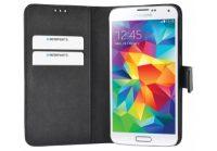 Mobiparts Premium Wallet Case Samsung Galaxy S5  /  S5+  /  S5 Neo Black