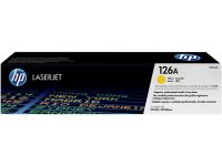 HP 126A Toner Yellow CE312A